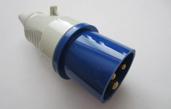 16Amp Commando Plug Blue